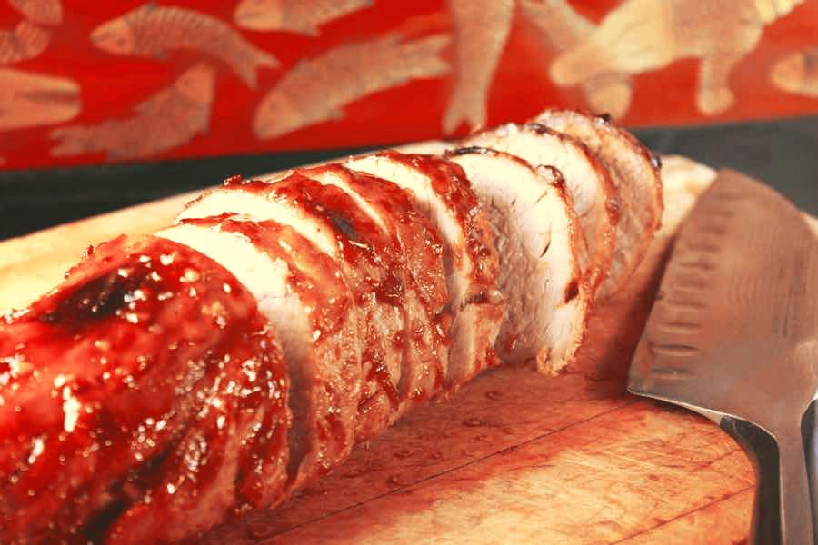 Le porc au miel : préparation en sucré / salé, c'est toujours un régal